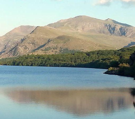 Snowdon from Llyn Padarn